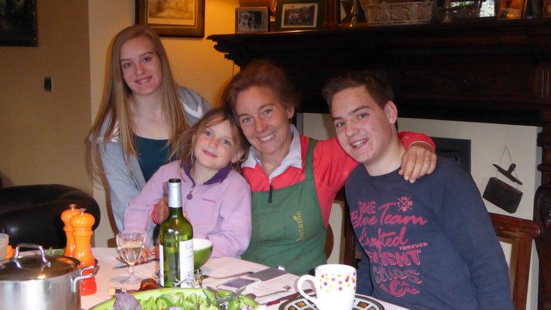 Peter accueilli dans notre famille
