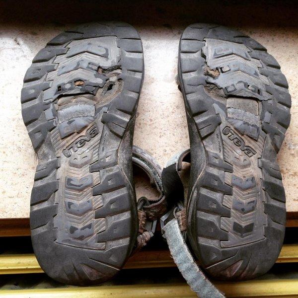 Mes sandales TEVA après 2000 km