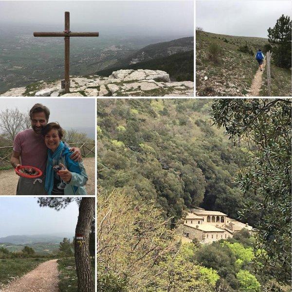 De Assise à Spello par le Mont Subasio