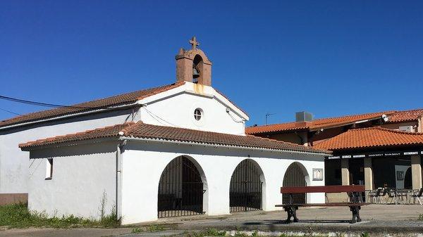 Grrrr, encore un porche grillagé en Asturies (avant d'arriver à Ribadesella)