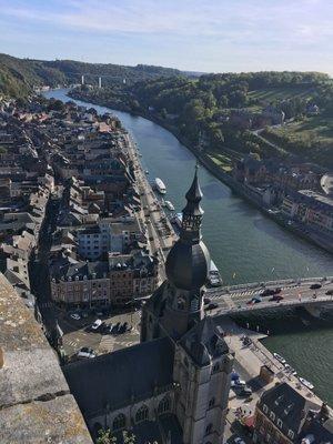 Dinant vue de la Citadelle