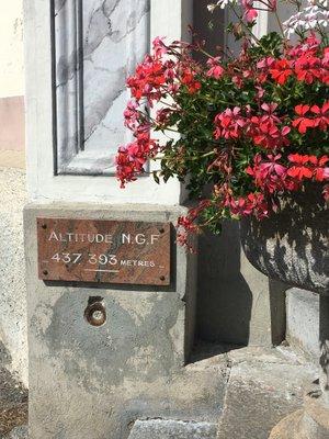 Altitude à Saint Rémy de Maurienne