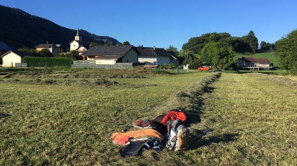 Bivouac à Villard d'Héry