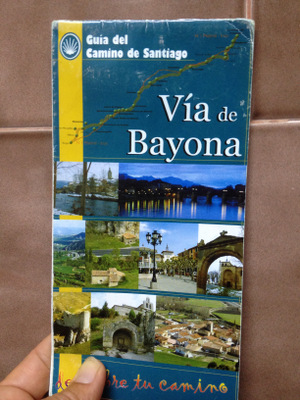 Carte de la Via de Bayona