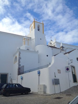 L'église de Tavira, départ du chemin de l'est portugais