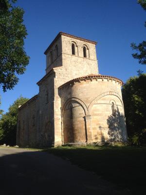 Eglise romane à côté de Monasterio de Rodilla
