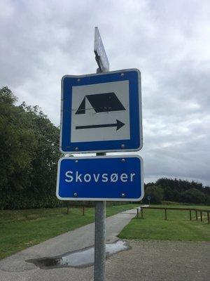 Teltplads au Danemark