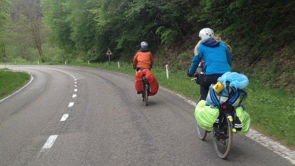 Pèlerins cyclistes