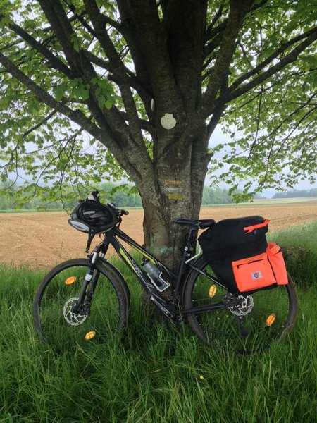 Equippement du pèlerin cycliste