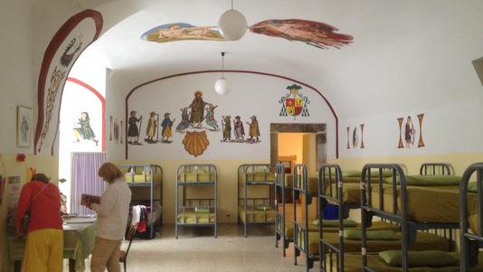 Le dortoir de Samos