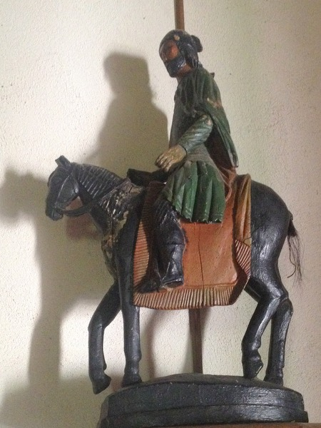 Miquelot à cheval