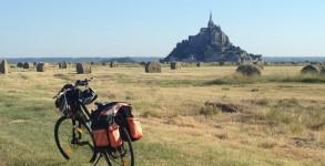 Vers le Mont Saint Michel à vélo