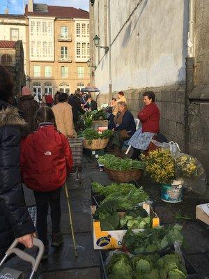 Le mercado de Santiago
