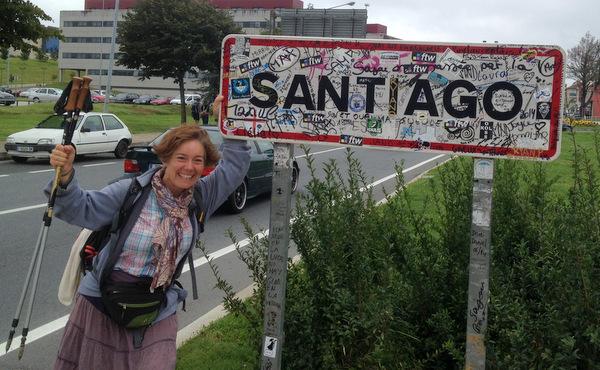 Prière pour l'arrivée à Santiago
