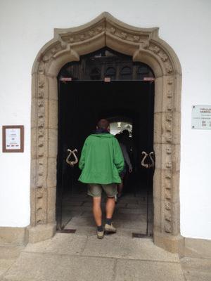 La salle à manger des pèlerins aux Reyes Catolicos