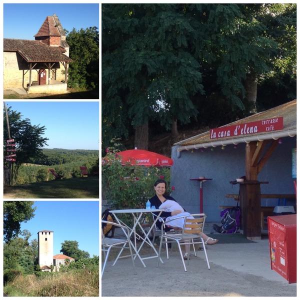 La casa d'Elena à Lamothe