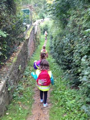 Marche parrainée sur les chemins de Saint Jacques