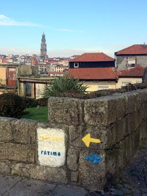 Le départ de la cathédrale de Porto