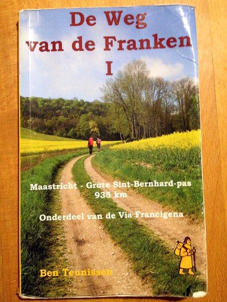 "Guide hollandais vers Rome ""De Weg van de Franken"""