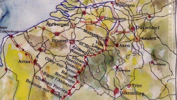 La Via Francigena de Maastricht à Reims