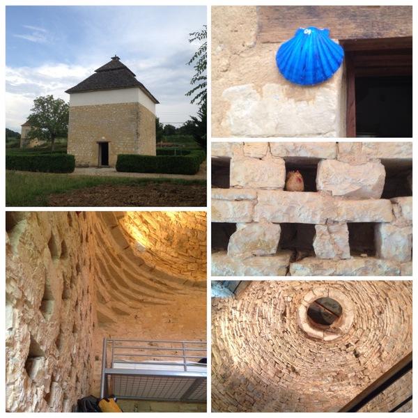 Le magnifique refuge de Salviac dans un ancien pigeonnier