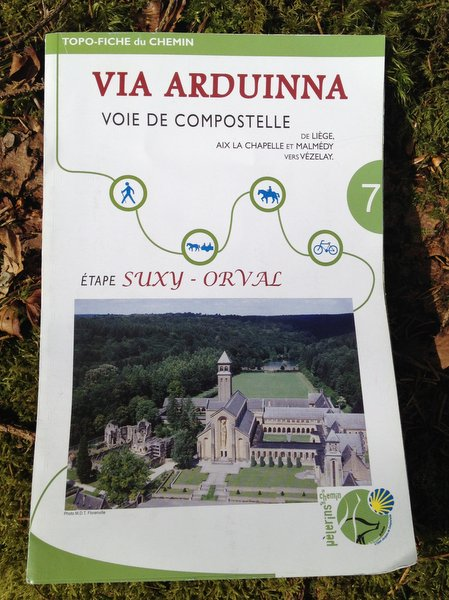 Topo-Fiche Via Arduinna de Suxy à Orval