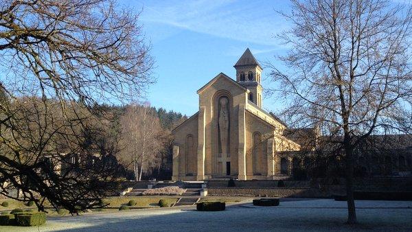 L'Abbaye d'Orval vue de l'intérieur