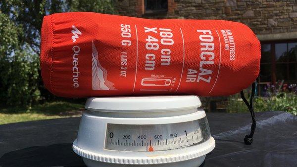 Test du poids des matelas