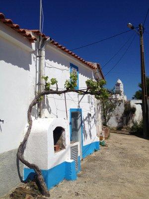 Village au fond de l'Algarve