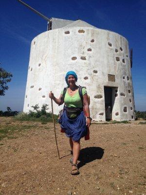 Moulin au fond de l'Algarve