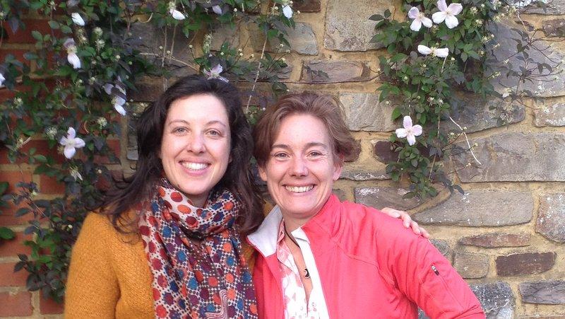 Christelle et Sylvie en Belgique