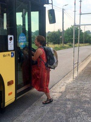 Revenir de Santiago en bus