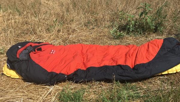 Mon matériel de bivouac : matelas, sac de couchage, sursac de bivouac