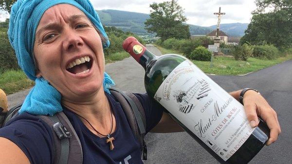 Transporter son vin sur le chemin