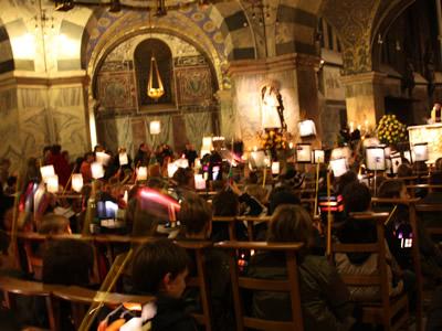 Célébration de la fête de Saint Martin à la chapelle palatine