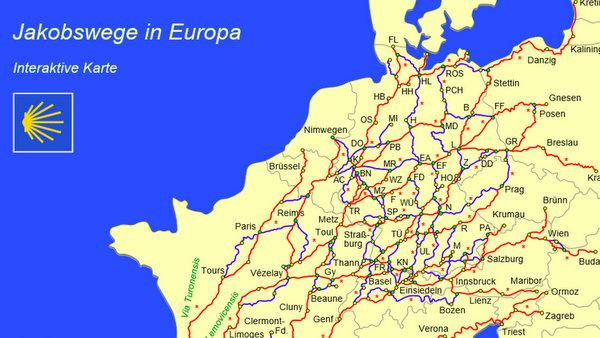 Les chemins de Saint-Jacques en Allemagne