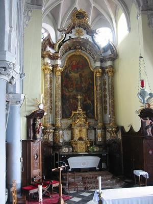 Eglise Saint Jacques à Clermont-sur-Berwinne