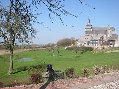 Vue sur Clermont-sur-Berwinne