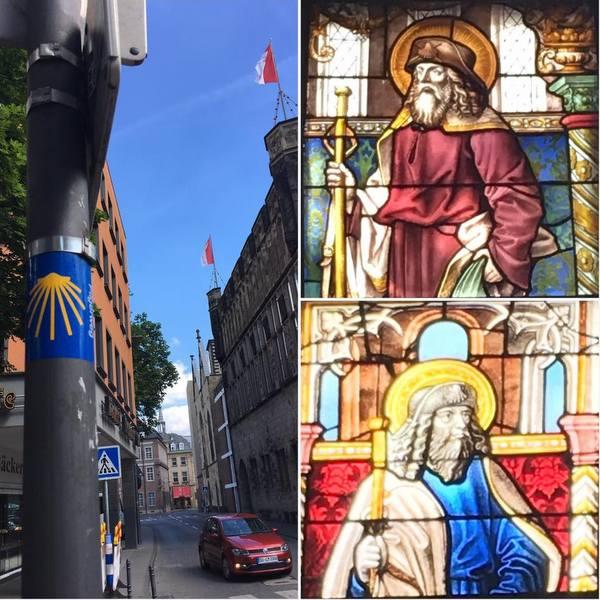Cologne sur les traces de Saint Jacques