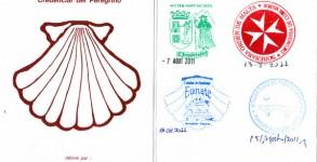 La credencial, le passeport du pèlerin