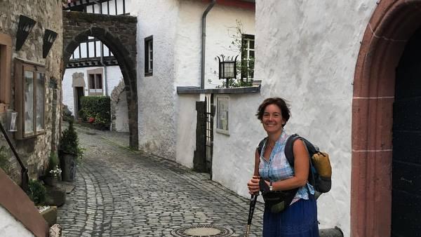 Eifel : la petite ville fortifiée de Kronemburg
