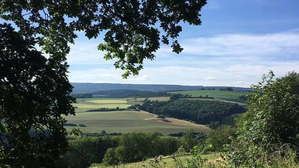 Eifel : le paysage peu avant Prüm