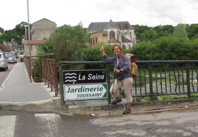 La Seine à Bar-sur-Seine