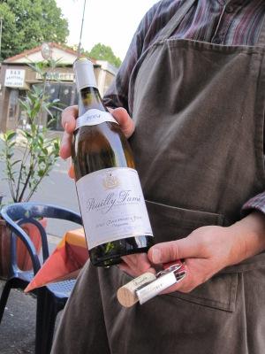 Un mémorable Pouilly Fumé à La Charité sur Loire