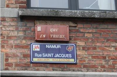 Namur : Rue Saint Jacques !