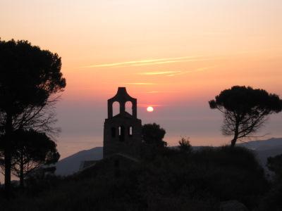 Lever de soleil sur Santa Helena