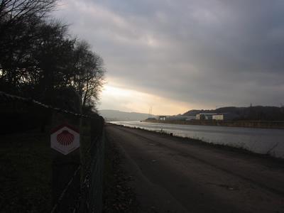Le long de la Meuse à Andenelle