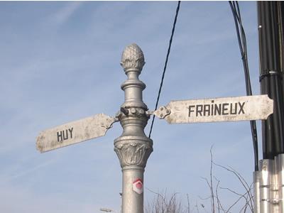 Panneau indicateur à Villers-le-Temple
