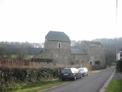 La tour Malherbe entre Nandrin et Ombret