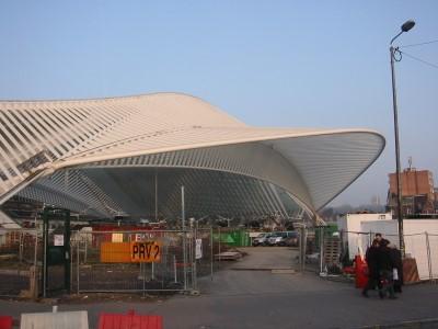 La gare de Liège Guillemins